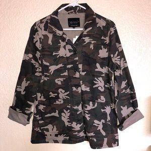 Sanctuary Camo Shaket Jacket Size L